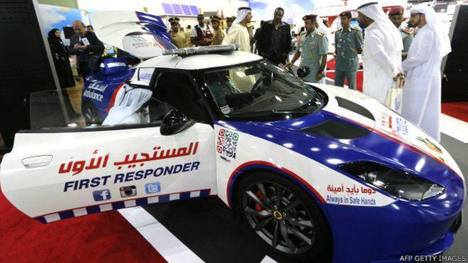 La ambulancia más rápida del mundo