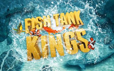 Reyes del acuario, el único reality show capaz de crear arte acuático