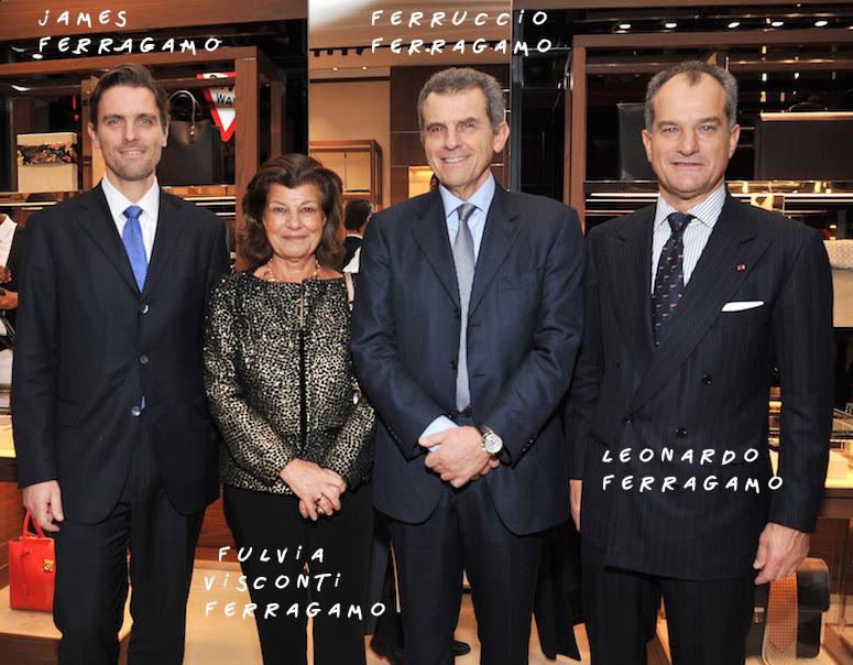 James-Ferragamo-Fulvia-Visconti-Ferragamo-Ferruccio-Ferragamo-and-Leonardo-Ferragamo