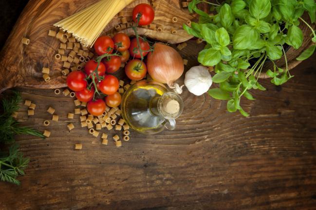 11 ingredientes que encontrarás en la cocina italiana