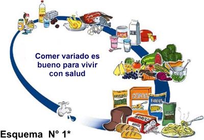 La nutrición para una vida saludable