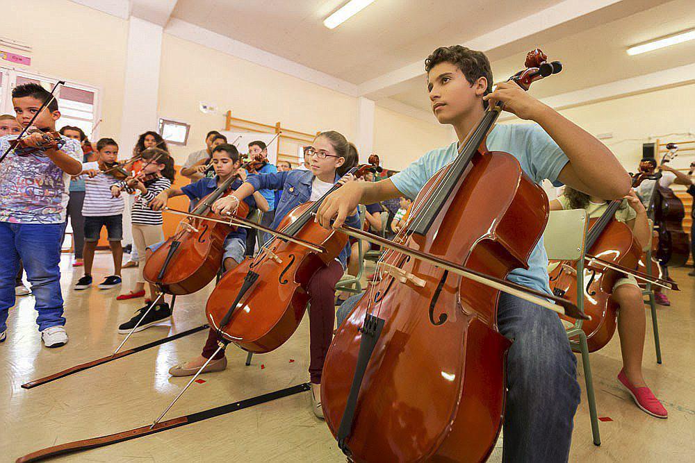 Beneficio de aprender a tocar un instrumento