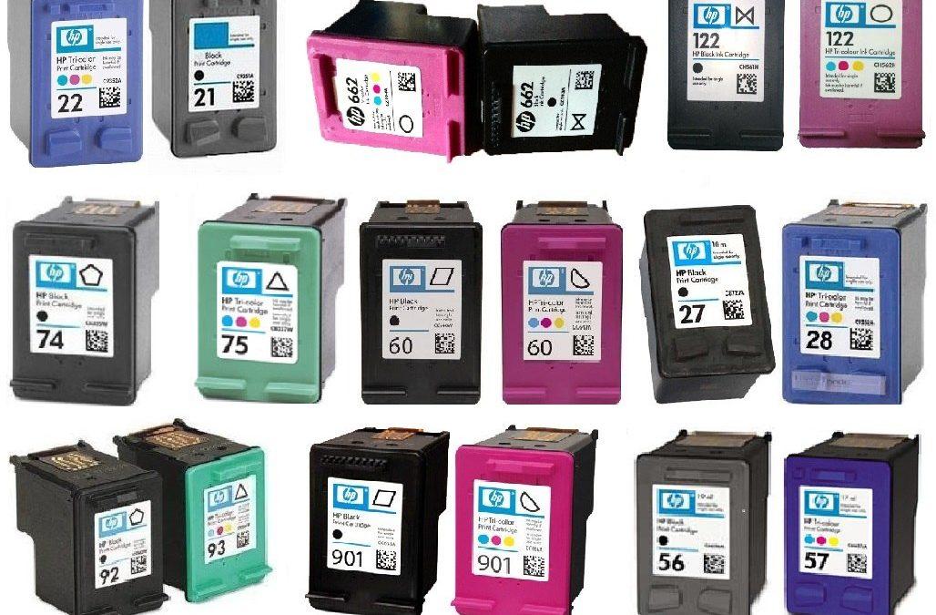 Cartuchos de tinta