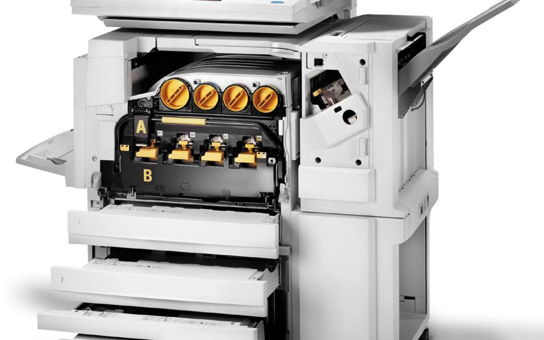Diferentes tipos de fotocopiadoras