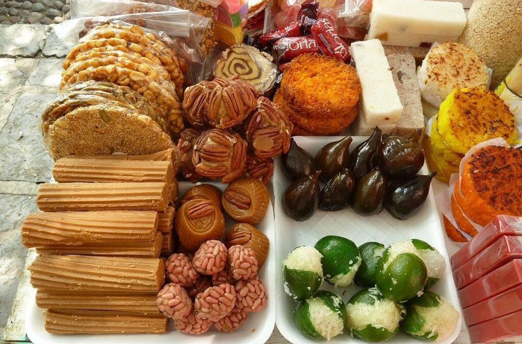 Dulces típicos mexicanos