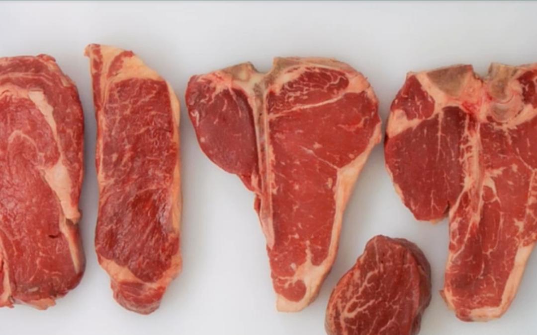 Tipos de cortes de carne de res